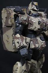 Gundam Ez-8 Model Kit.