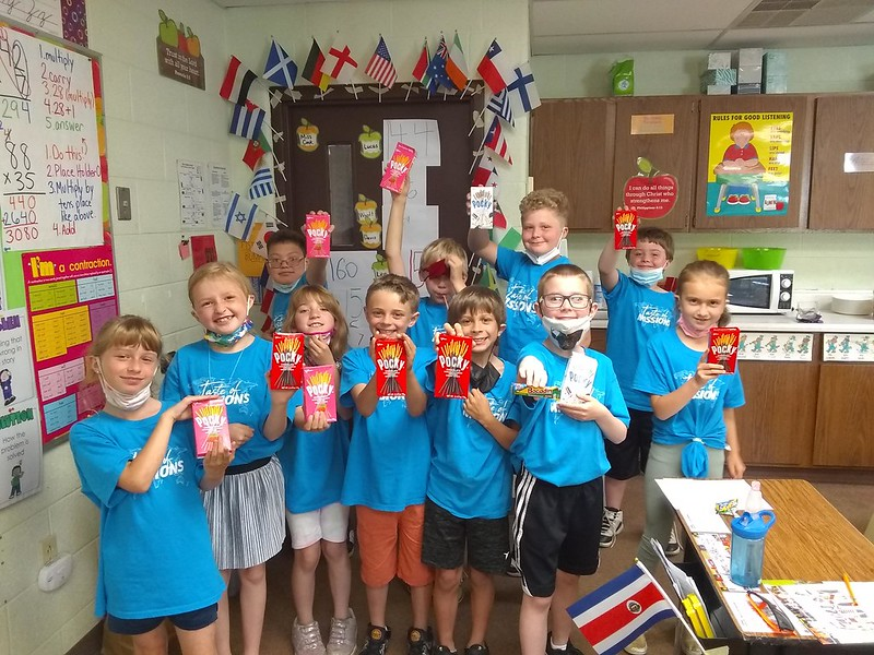 Taste of Missions Party - School Challenge Winners 2021