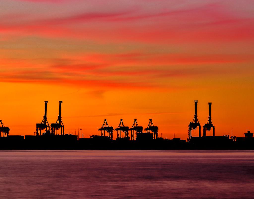 … the stillness … Port Botany, NSW Australia