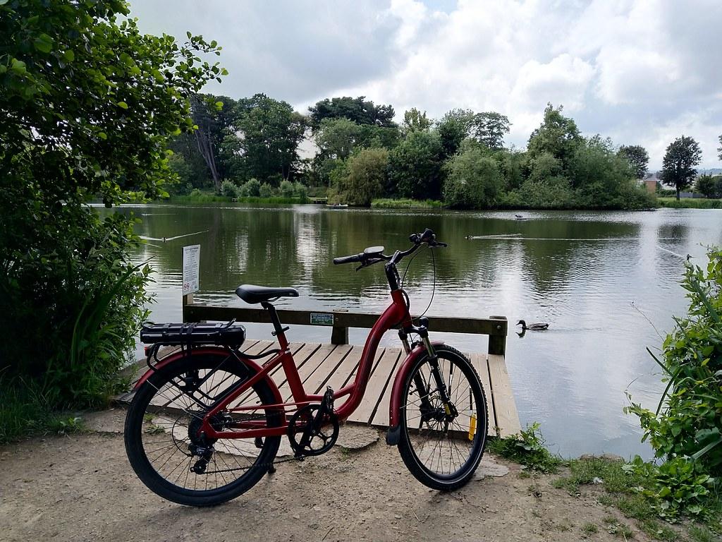 Lake at Pittville Park, Cheltenham
