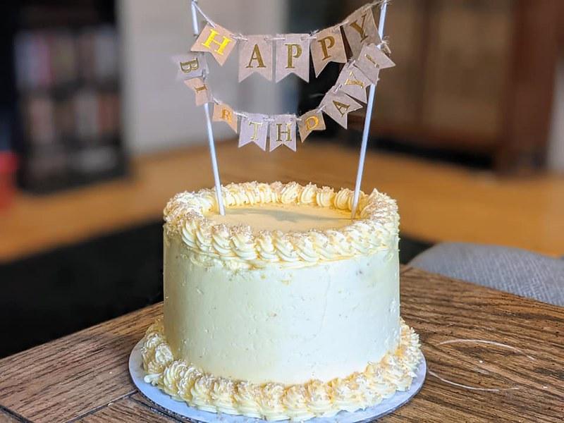 Cake by Dough-Eyed Bakery, LLC