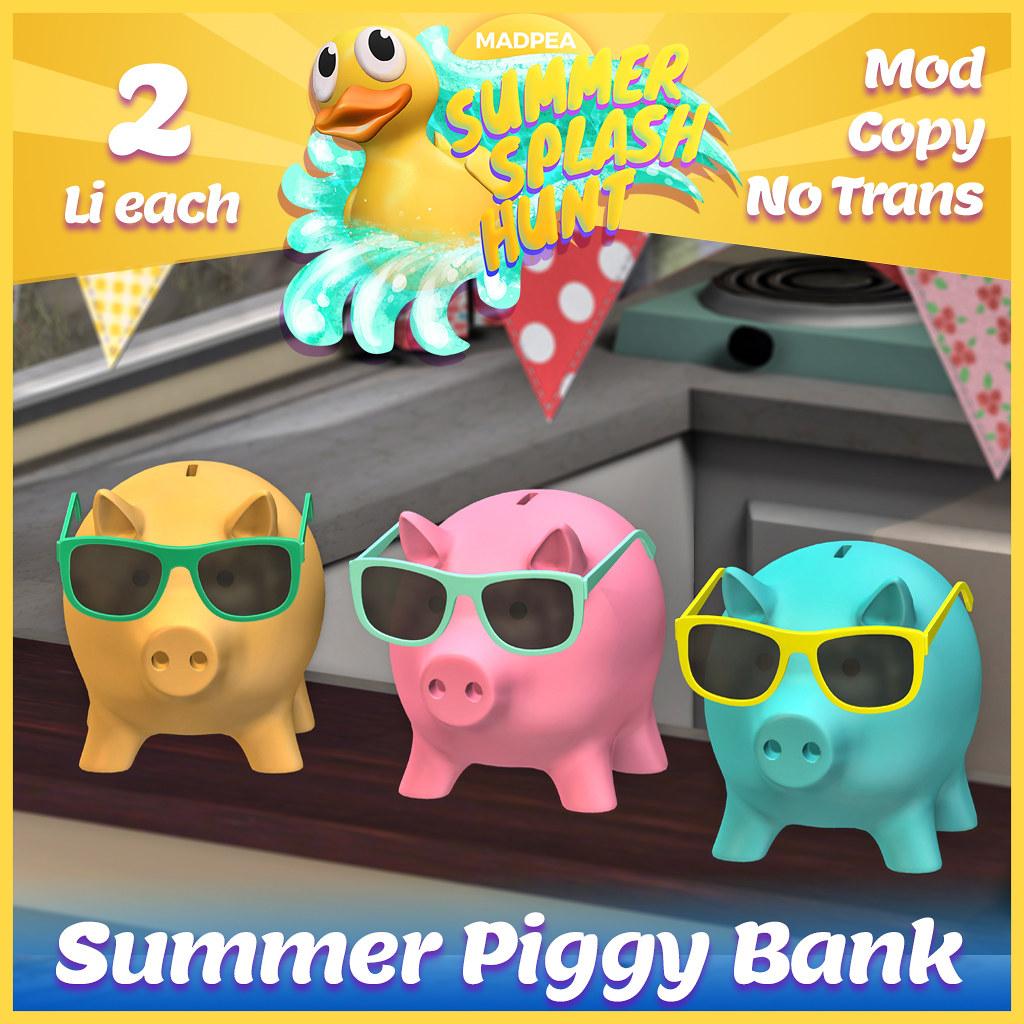 Summer Hunt Prize Reveal: Summer Piggy Bank