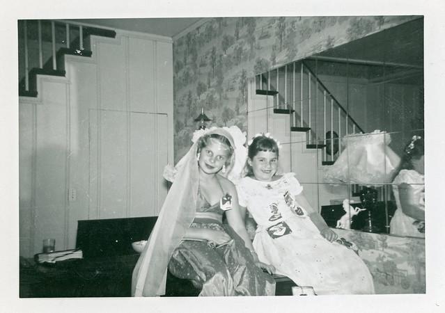 Girls in Costume, 1950s