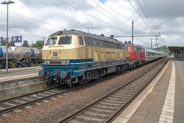 Railsystems  218 489 + DB 218 366 Itzehoe