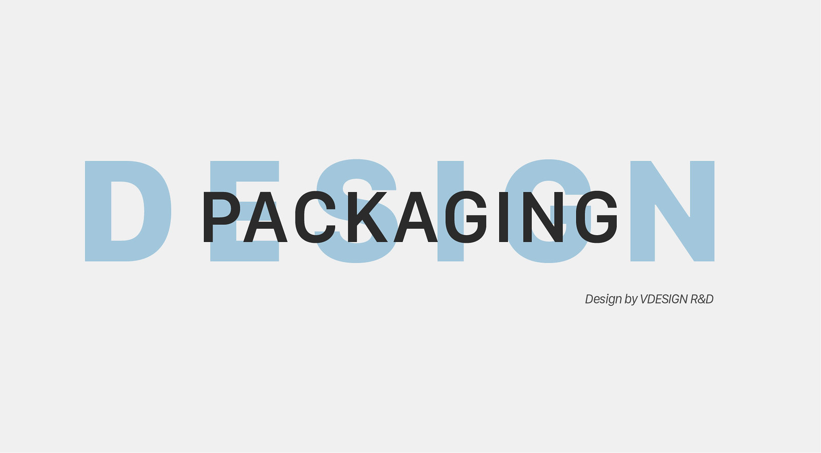 Packaging design - Vdesign R&D