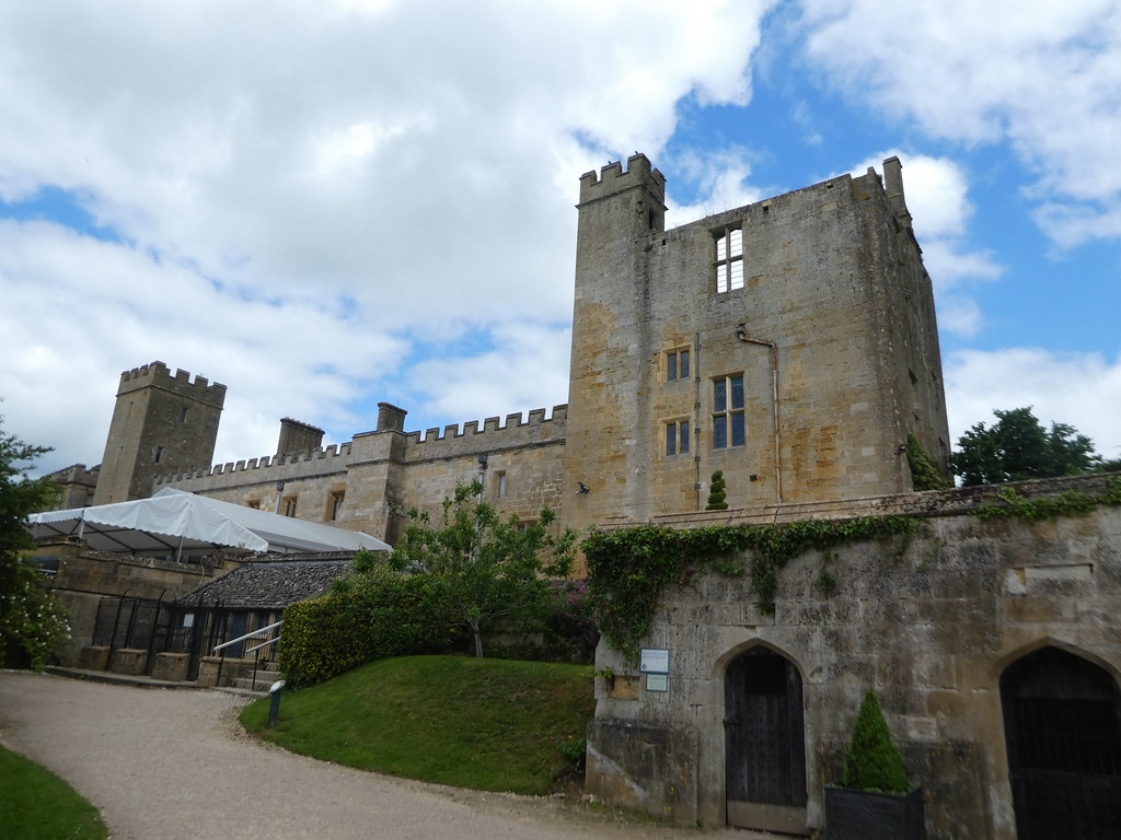 Entrance to the East Wing of Sudeley Castle