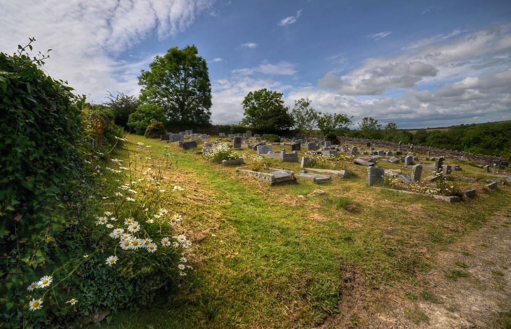 Churchyard of St Willow, Lanteglos, Cornwall