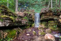 Hunnebur waterfall
