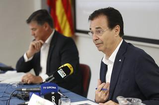 Antoni Cañete i Pere Cornellà es reuneixen amb els col·lectius de diferents sectors i amb representants d'entitats i administracions locals de Girona
