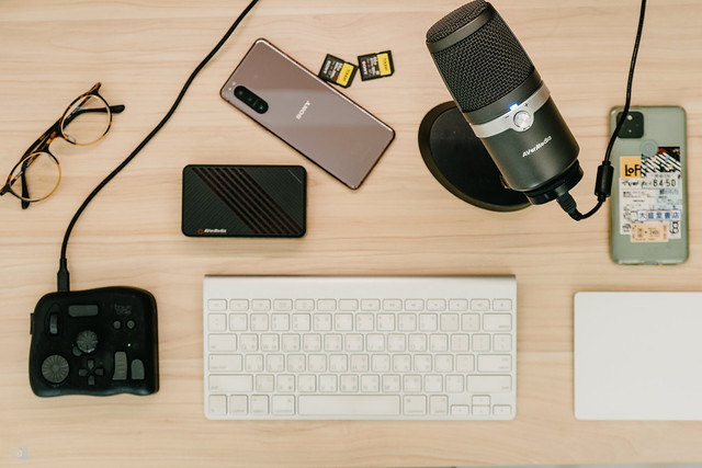 攝影師線上課程筆記:圓剛AVerMedia麥克風、擷取盒與視訊鏡頭 | 02