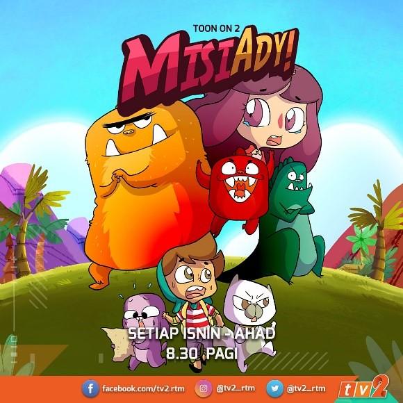 Siri Animasi Misi Ady &Amp; Upin &Amp; Ipin Hiasi Slot Toon On 2  Di Tv2