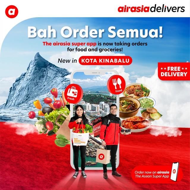 Airasia Super App Kembang Perkhidmatan E-Dagang Ke Kota Kinabalu