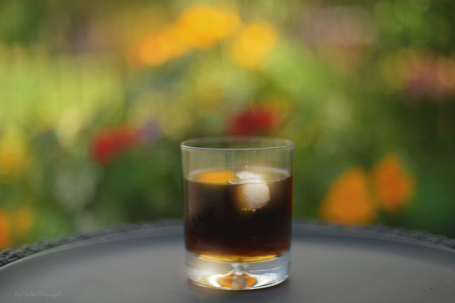 Rum and Nasturtiums