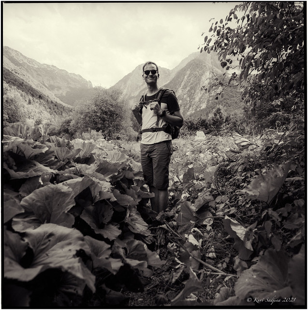 With Silvester in the Lepena Valley_Hasselblad 503cx