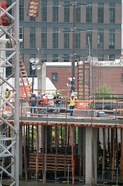 WPX Building Construction, Downtown Tulsa, OK