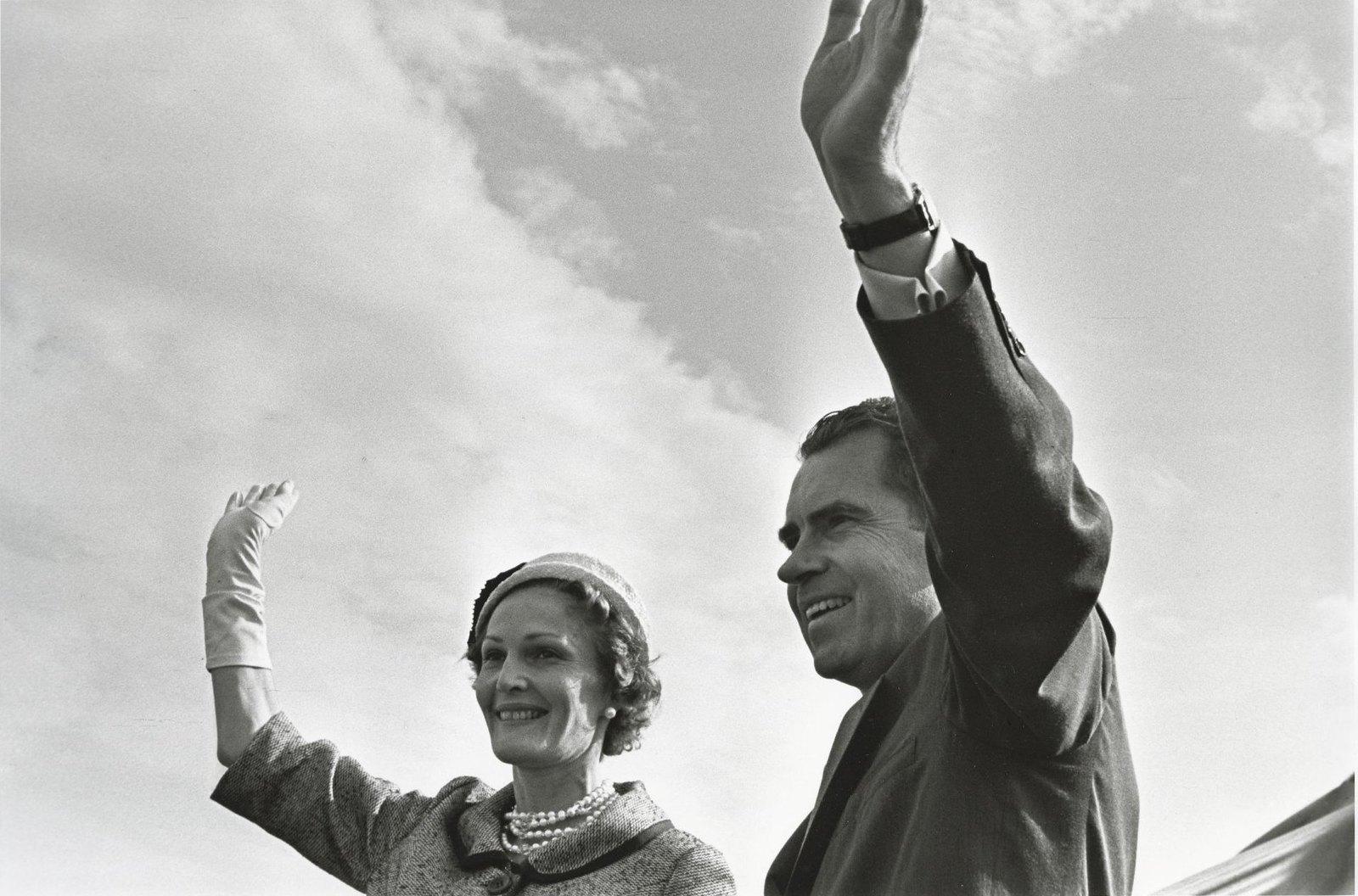 1959. Пэт и Ричард Никсоны. Визит в СССР
