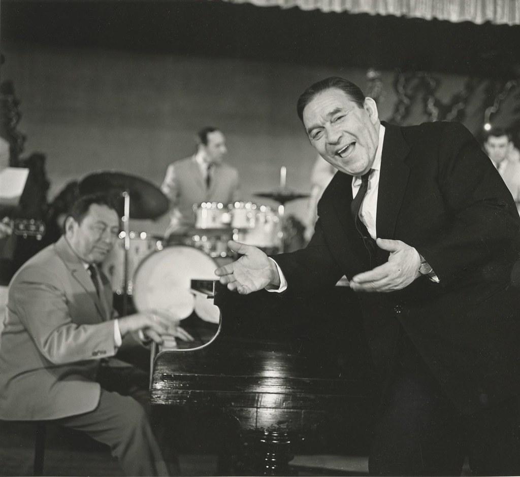 1954. Леонид Утесов и его оркестр