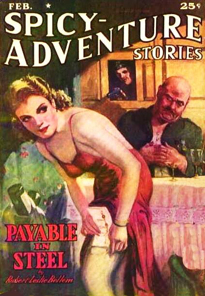 Spicy-Adventure Stories / February 1940