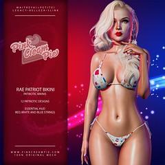 Rae Patriot Bikinis @ The Saturday Sale 7/3