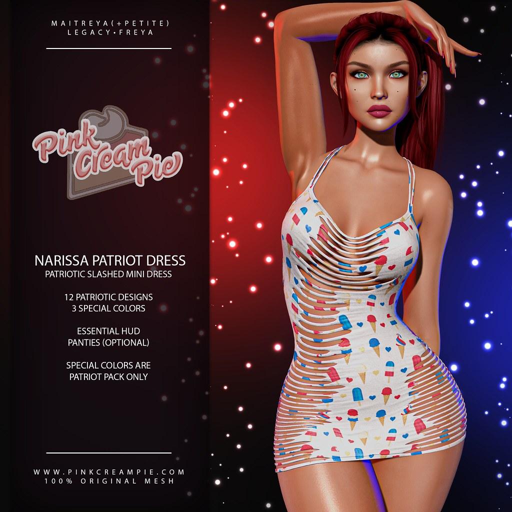 Narissa Patriot Dresses @ Fly Buy Fridays 7/2