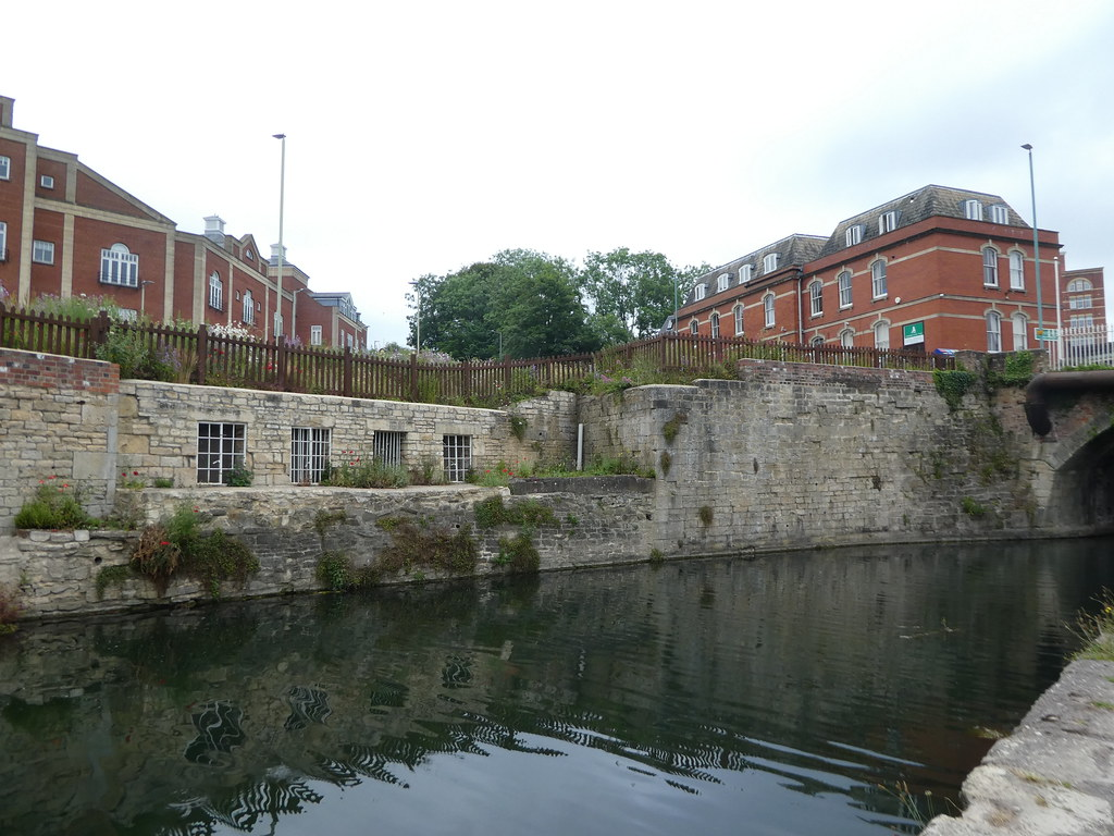 Old mills linking the canal bank in Stroud