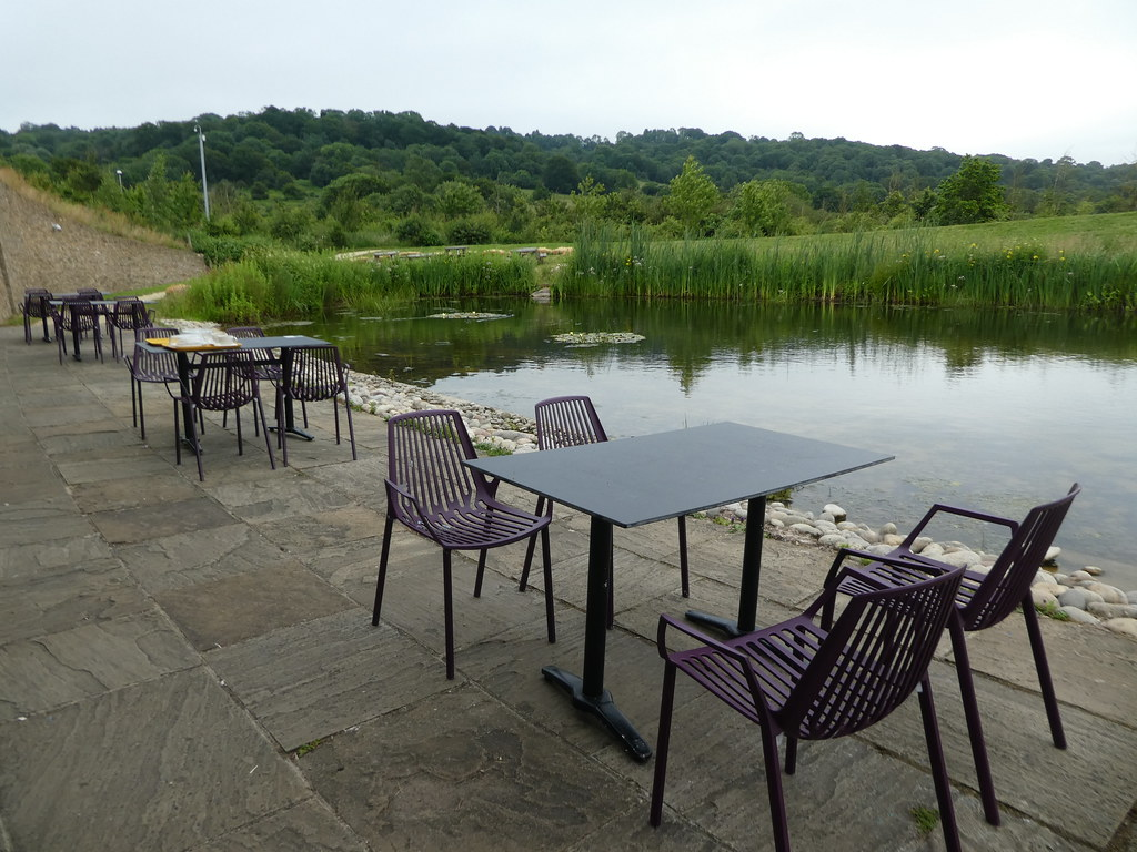 Cafe seating, Gloucester Services M5 Motorway