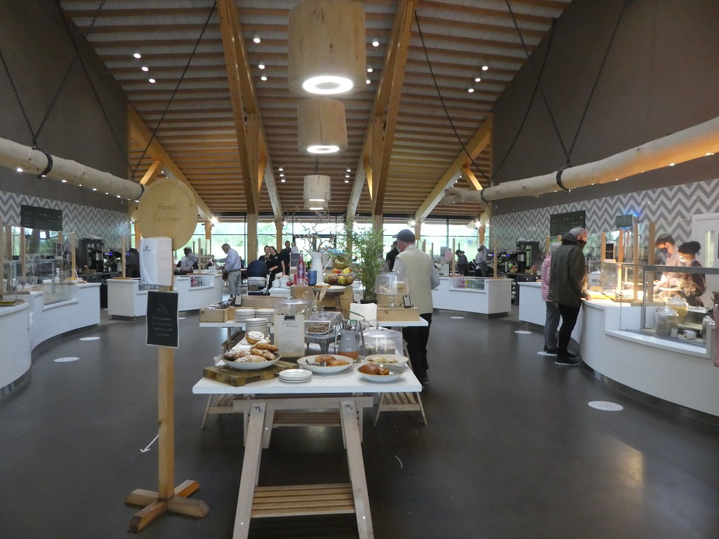 Gloucester Services Cafe, M5 Motorway