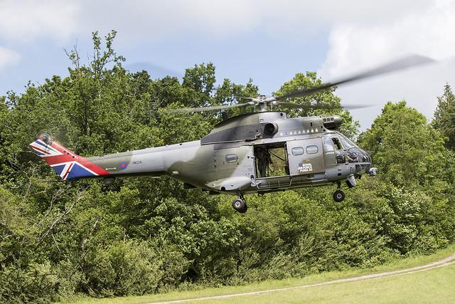 XW224 / Royal Air Force / Puma HC2