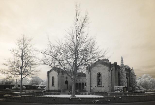 Twilight at the Chapel IR