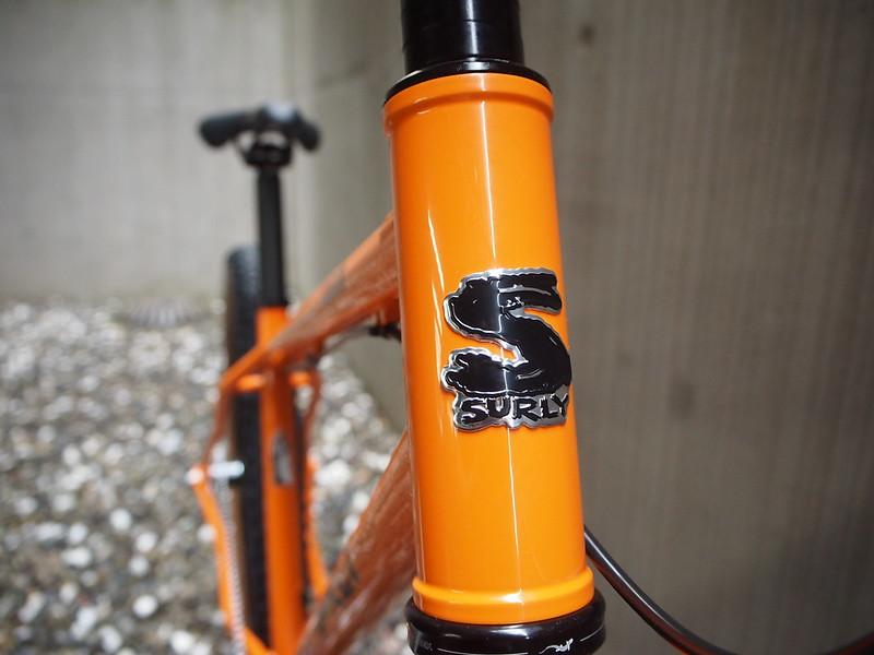 SURLY Lowside Tangerine Hed