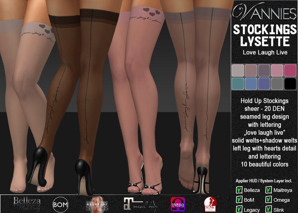 VANNIES Stockings Lysette