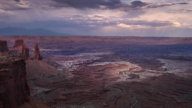 White Highlight - Canyonlands National Park