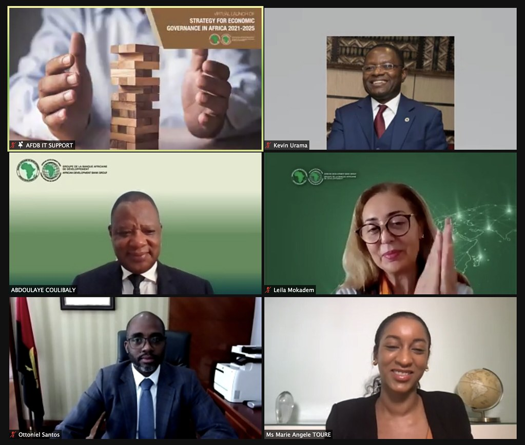 Launch of the Strategy for Economic Governance in Africa 2021-2025