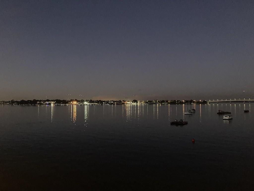Lights on Kogarah Bay
