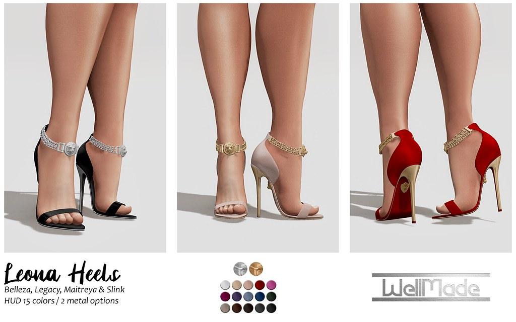 [WellMade] Leona Heels – Exclusive for Avatar Fair