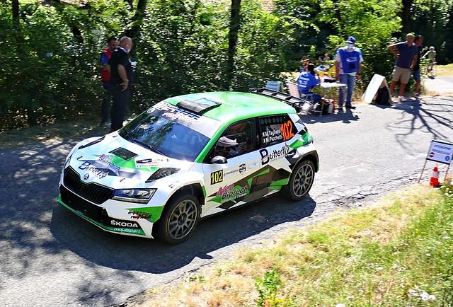 102 Tagliani Michele ITA Tagliani Michele ITA Picchetti Michela ITA Skoda Fabia R5 Erreffe Rally Team