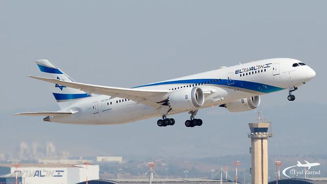TLV - El A Boeing B787-8 4X-ERC