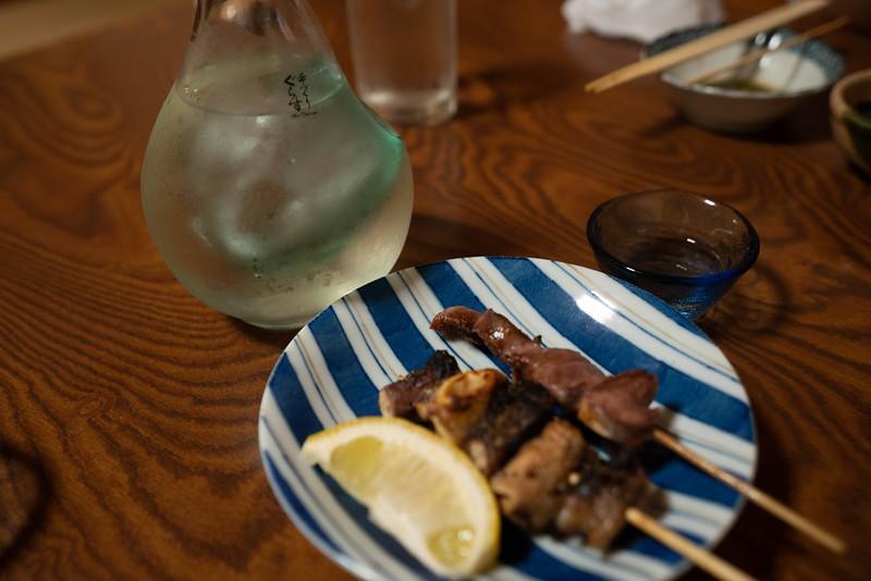 焼き鳥と日本酒