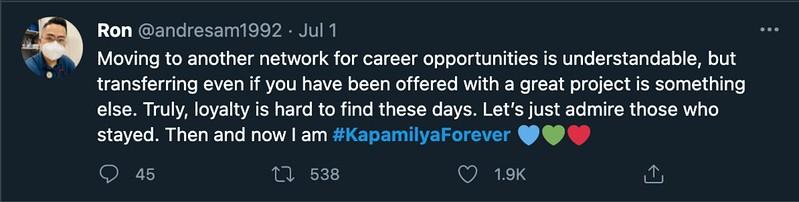 Kapamilya Forever Trended