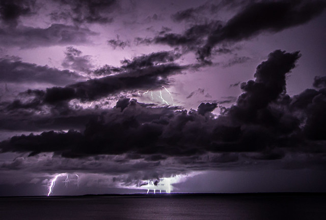 Nightstorm, seen from Bicentennial Park, Darwin, Northern Territory, Australia