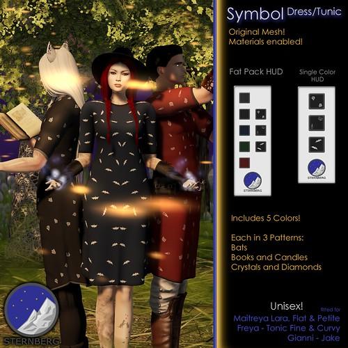 Sternberg Symbol Dress/Tunic