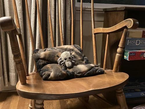 Dust Mite rocking chair