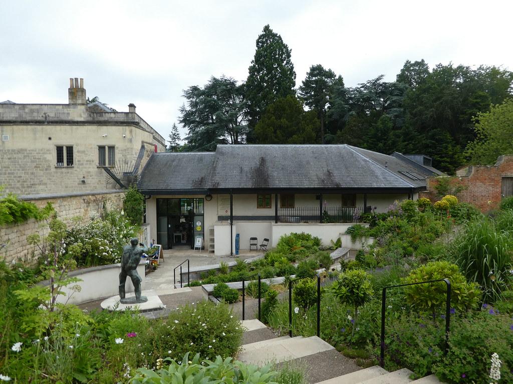 The Museum in the Park Stroud rear garden