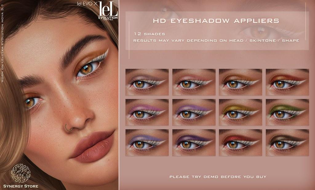 Synergy – Lelutka HD Eyeshadow Applier for EVO/EVO X heads – Rosario♥