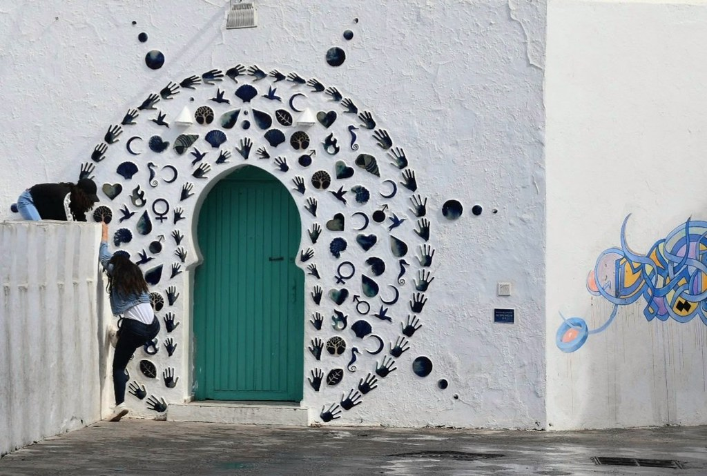 The Entrance to the Mosque