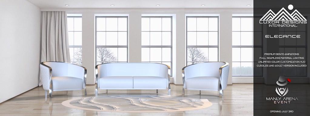 Elegance Luxury Living room Set