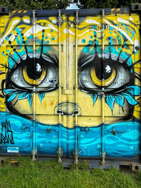 Container graffiti