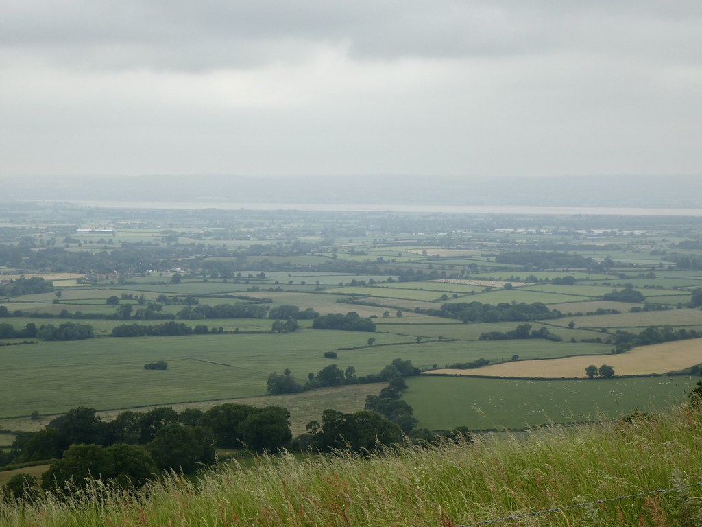 Views across the Severn Valley from Coaley Peak, Glouestershire