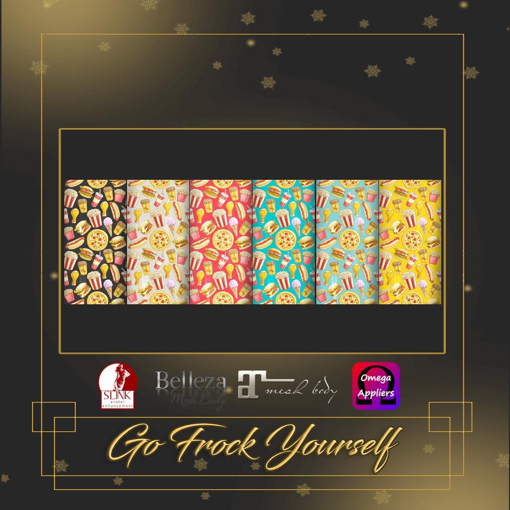 GFY-Junk Food Nail Appliers