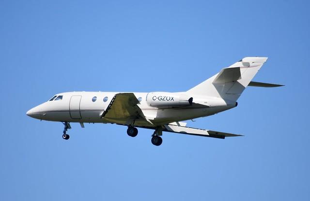 C-GZOX Falcon 20